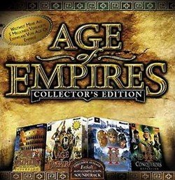Age of Empires Collector´s Edition CD-Rom Jewelcase