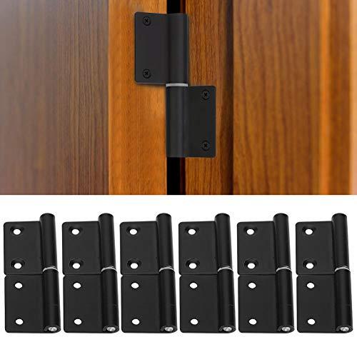 Bisagras de puerta interior, bisagras de puerta de acero inoxidable para oficina para gabinete para hotel para el hogar