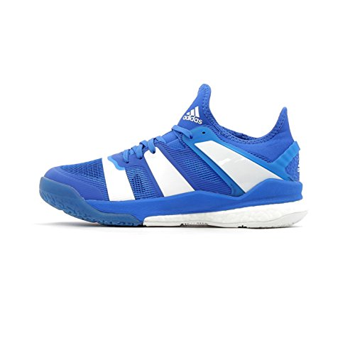 adidas Herren Stabil X Handballschuhe, Blau (Blau-(Blau/FTWBLA/Blau), 45 1/3 EU