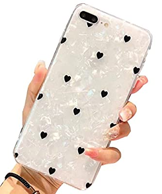 """iPhone 8 Plus Case,iPhone 7 Plus Case, J.west iPhone 7 Plus TPU Case Luxury Sparkle Bling Crystal Clear Soft TPU Silicone Back Cover for Girls Women for Apple 5.5"""" iPhone 8 Plus/7 Plus"""