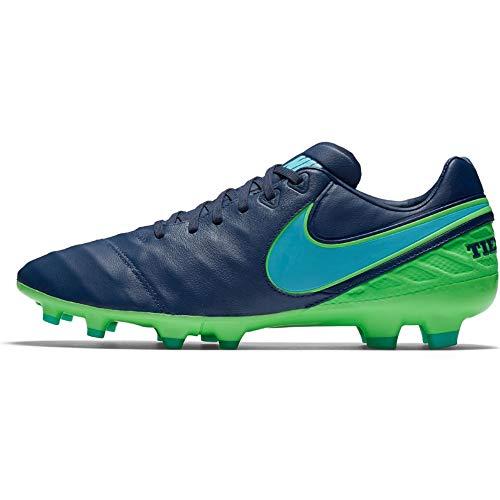 Nike Herren 819218-443 Fußballschuhe, Blau/Grün (Coastal Blue Polarized Blue Rage Green), 41 EU