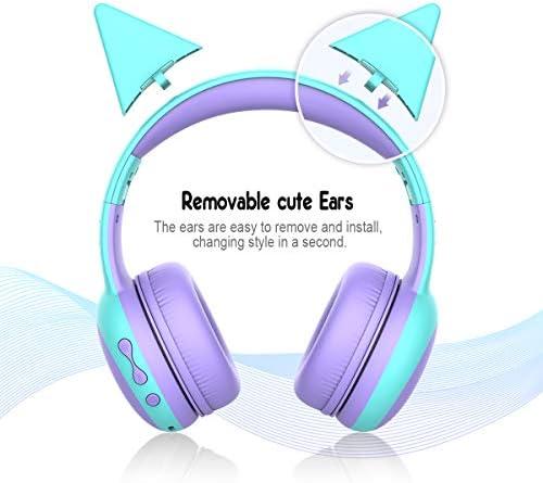 gorsun, Bluetooth Kids Headphones, (Purple)