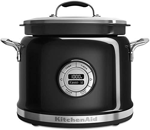 KitchenAid RKMC4241OB Multi-Cooker Non Stick CeramaShield Pot Clear...
