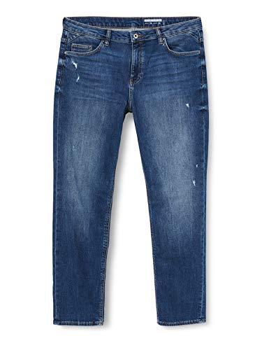 edc by Esprit Damen 040CC1B333 Jeans, 902/BLUE MEDIUM WASH, 28/30