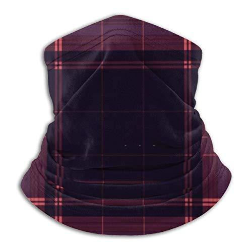 JaOUIY Stilvolle quadratische Bandana Gesichtsmaske für Männer Frauen Hals Gamasche Schal Staub Wind Sturmhaube Kopfbedeckung