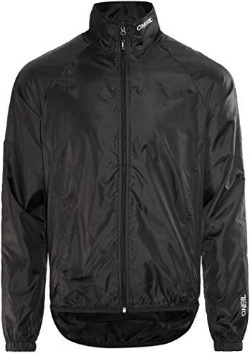 O'NEAL   Mountainbike-Jacke   MTB Mountainbike DH Downhill FR Freeride   Wasserdicht, atmungsaktiv, Windbreaker- Jacke   Breeze Rain Jacket   Erwachsene   Schwarz   Größe M