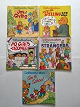 Berenstain Bears (Set of 5) Joy of Giving; Big Spelling Bee; No Girls Allowed...