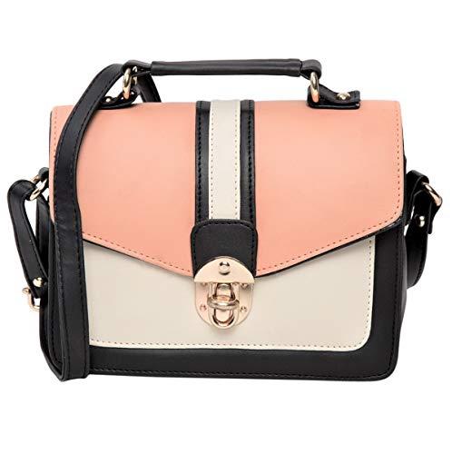 ADISA SL5038 women girls peach sling bag