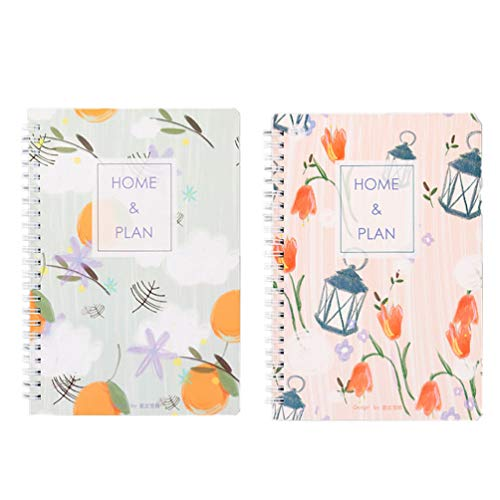 NUOBESTY Budget Boek Lantaarn Patroon Financiële Planner Organizer Uitgaven Tracker Notebook Geld Planner Account Boek…
