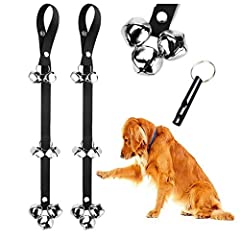 🔔Tired of cheap imitation bells? Tired of poor quality that cannot withstand the urge and pull of your dog? Look no further. Papikin specializes in Dog care products and are known for their unbeatable quality. Dog Training Bells are one of the easy a...