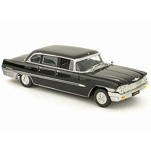 ZIL-111G USSR Russian Soviet Limousine Black Luxury 1962-1967 Year 1/43 Scale Diecast Collectible Model Car