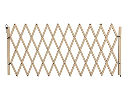 Nordlinger Pro 742011Stop' Max–Barrera de madera extensible extragrande para animales