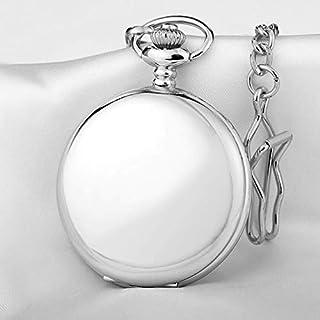 ZHJBD JIAN,Pocket Watch Hanging Mode Cou Décontracté Étudiant Masculin Mme Montre De Poche, Collier Montre À Quartz, Montr...