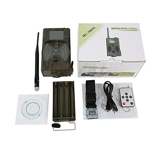 YXAQQK Wildkamera 2 G MM Wanderkamera Mobilmobil 1 2MP 1080P. Fotofallen Wilde Kamera HC300M Wireless Wildlife-Überwachung. Jagdkamera (Color : HC300M with MMS)
