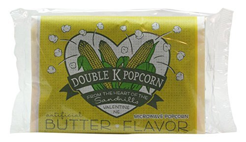 Double Mail Manufacturer OFFicial shop order K Popcorn Microwave Butter ounce 3.0 Count 18