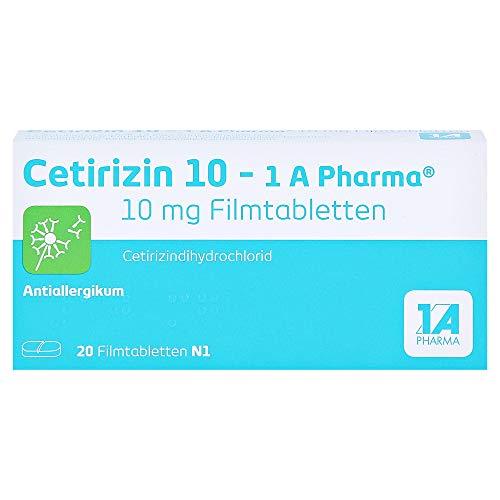 CETIRIZIN 10-1A Pharma Filmtabletten 20 St
