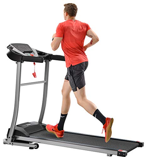 Merax Folding Electric Treadmill Motorized Running Machine Easy Assembly Electric Treadmills for Home, Motorized Fitness Compact Running Equipment with LCD...