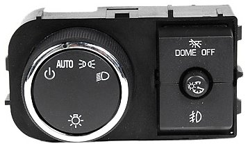 ACDelco D1527J GM Original Equipment Headlamp, Instrument Panel Dimmer, and Dome Lamp Switch