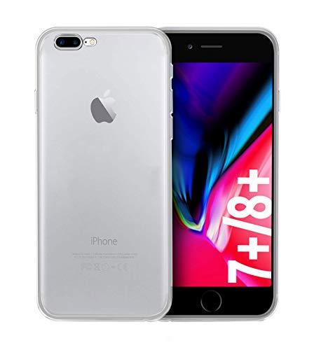 Custodia protettiva posteriore Slim-Case di iPhone 7 Plus / 8 Plus [smart engineered] Transparente, Protegge da graffi e urti, sottile