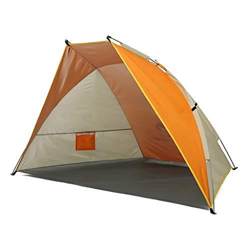Koepeltent outdoortent 2 personen reizen met tas openen camping tent vissen wandelen strand 210 * 135 * 115 cm A