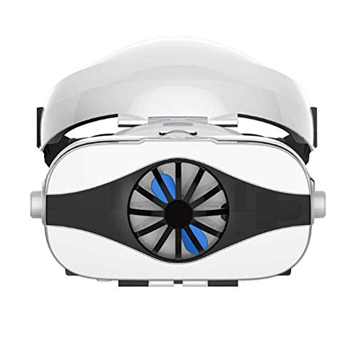 Funiee Gafas 3D VR con Ventiladores, Gafas de Realidad Virtual VR, películas 3D IMAX, Juegos para Android, iOS y Otros Smartphones y Otros teléfonos de 4,0 a 6,33 Pulgadas