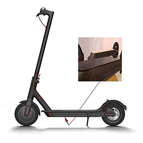 Mungowu 1 Set Electric Scooter Protective Set & 1 Set Scooter Battery Compartment Cover Bottom Plate with Waterproof Parts