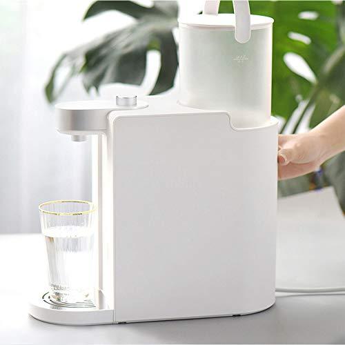 BTSSA Mini Hervidor eléctrico,Portátil Instantáneo Dispensador,6 Tipos Temperatura del Agua Ambientación,1,7 litros...