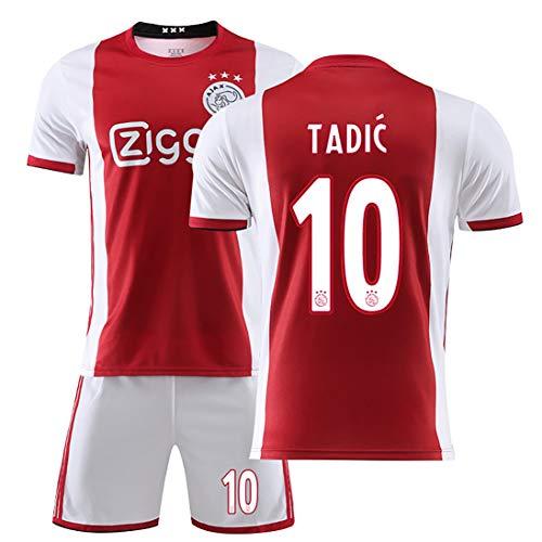 OBTAIN 19-20 Jersey No. 10, Tadic Blind Huntelaar, Traje de Uniforme de fútbol para Hombres, Traje de Entrenamiento Personalizado para Adultos/niños-10#-26