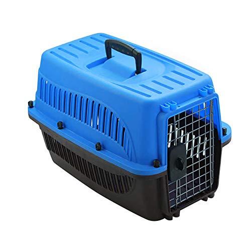 Transportbox für Haustiere, mittlere und große Hunde Skudo in Übereinstimmung mit IATA Anforderungen für den Transport Lebender Tiere, Tragebox Transportkäfig Transportkorb Tiertransportbox Tierbox