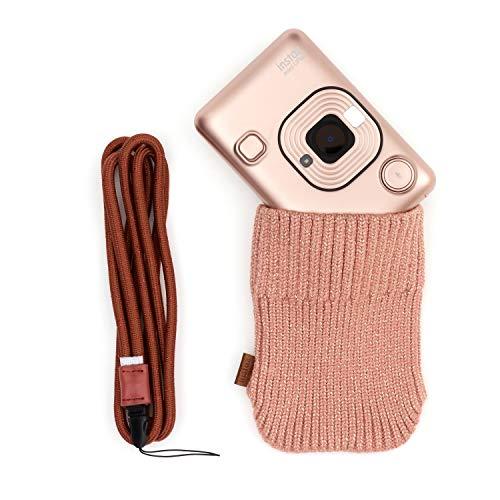 Fujifilm Instax 70100144524 - Kit Liplay por Cámara, con Accesorios, Color Oro Rosado