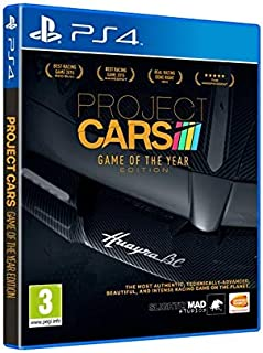 Project Cars Receiving Game Of The Year Edition For PS4