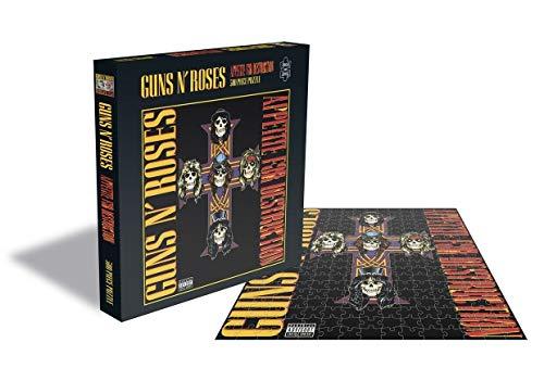 "Rock Saws Guns N' Roses ""Appetite for Destruction II"" Albumcover Illustration Merchandise 500 Teile Puzzle"