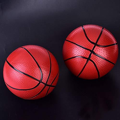 Alomejor Basketball Toy Ball Mini Basketball Sport Aufblasbarer Basketball Indoor Outdoor für Kinder