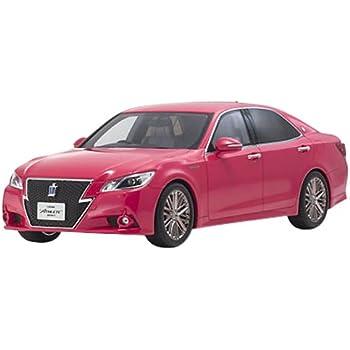 京商オリジナル 1/18 トヨタ クラウン ハイブリッド アスリートG ピンク 完成品