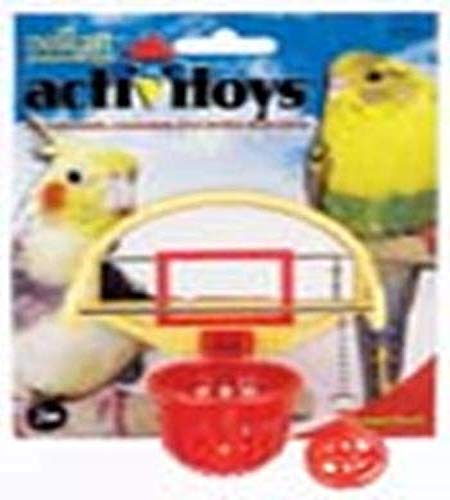 JW Pet Company Activitoys Birdie Basketball Bird Toy - 31092