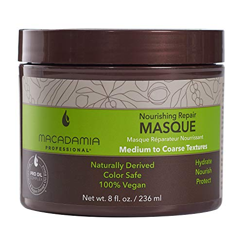 Macadamia Professional Nourishing Repair Hair Masque, 8 Fl oz