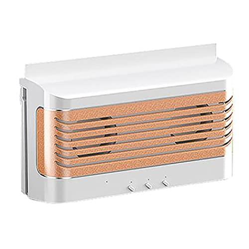 Kaxofang Ventilador de Coche con EnergíA Solar, Ventilador de Escape de Coche con EnergíA Solar,Radiador de Coche, Herramienta de RefrigeracióN del VehíCulo Que Elimina el Olor,Color Blanco