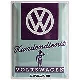Nostalgic-Art 23224, Volkswagen VW Kundendienst,