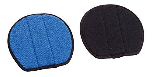 Busse Ersatzpads für Hufüberzug SAFETIES Pro®, S, Schwarz/Blau