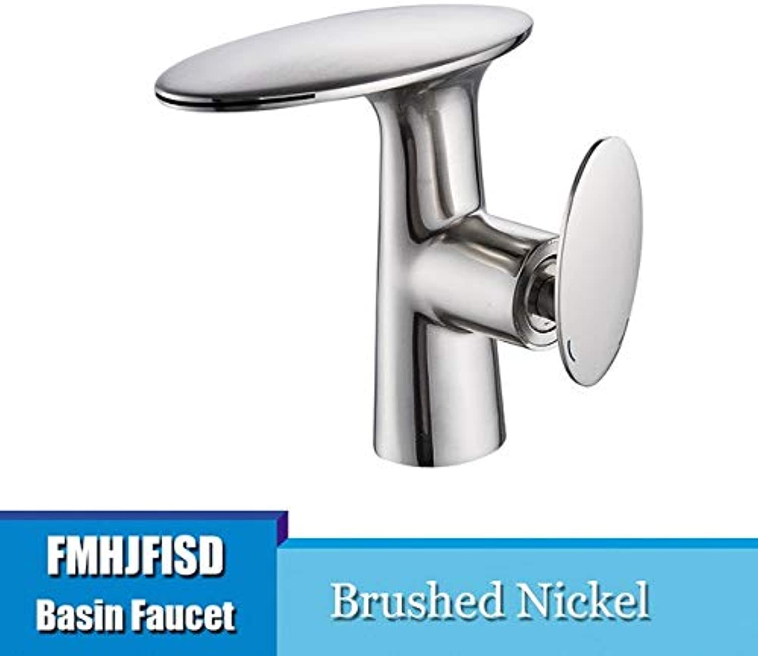 U-Enjoy Chandelier Bathroom Basin Waterfall Faucet Polished Top Quality Hot golden Cold Water Mixer Washbasin Faucets Deck Taps Mounted Free Shipping [Nickel]