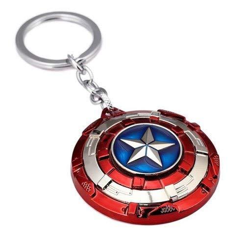 Techpro Gift Purpose Girls Boys Avengers Key Ring Key Chain for Bike Car