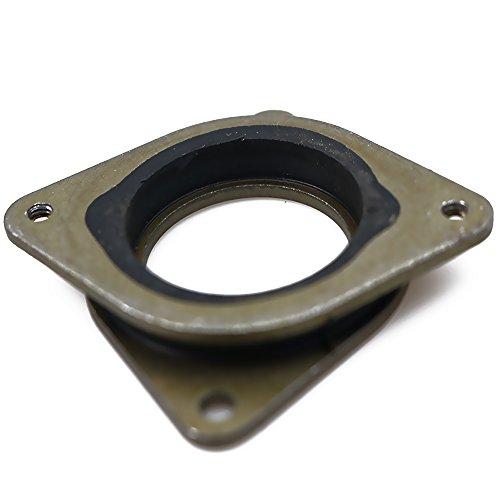 meeboo NEMA 17 Schrittmotor Schwingungsdämpfer Stoßdämpfer Vibration Stahl Gummi Schrittmotor Dämpfer Pad Waschmaschine für CNC, 3D Drucker z.B. CR-10