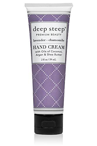 Deep Steep Hand Cream, Lavender Chamomile, 2 Ounce