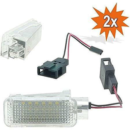 2x Do Led Ar18 Led Smd Fußraum Einstiegs Türbeleuchtung Xenon Optik Auto