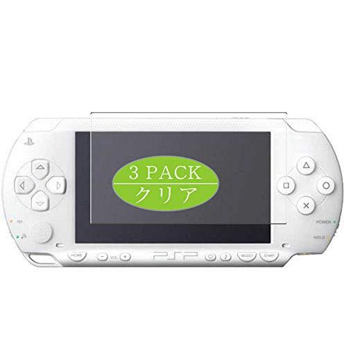 Vaxson Protector de pantalla, compatible con Sony PSP 2000 PSP2000, protector de película HD [no vidrio templado] película protectora flexible