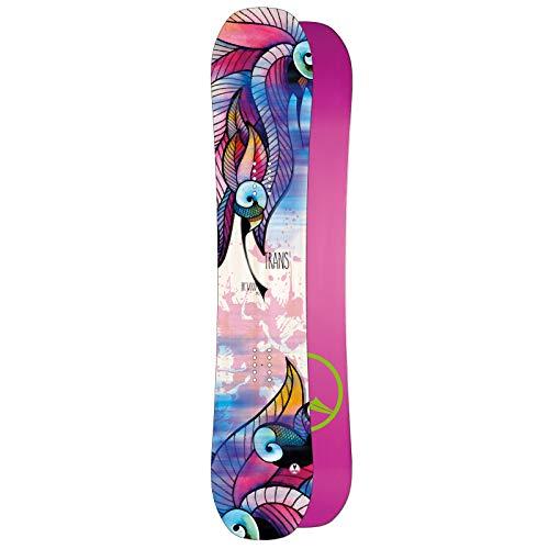 Unbekannt Damen Freestyle Snowboard Trans FR Wood 147 cm ~ Flat Rocker