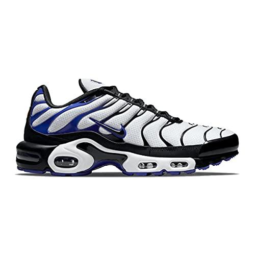 Nike Zapatos Hombre Air Max Plus Persian Violet Blanco DB0682-100, Negro/Blanco/Violeta Persa, 41 EU