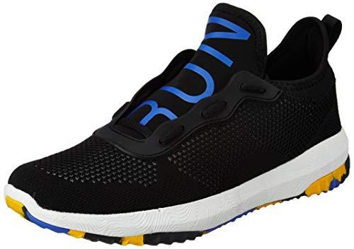 Amazon Brand - Symactive Men's Black Running Shoes-10 UK (SYM-YS-013A)