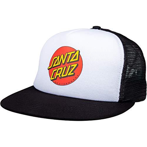 Santa Cruz Classic Dot Gorra - White/Black