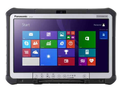 Panasonic CF-D1AVBXZF3 Toughbook CF-D1 33,8 cm (13,3 Zoll) Laptop (Intel Core i5 2520M, 2,5GHz, 4GB RAM, 320GB HDD, Intel HD 3000, Win 7 Pro) schwarz